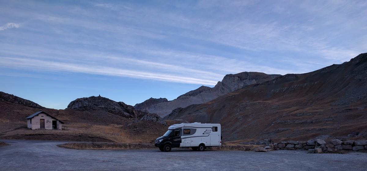 Alpen-Herbst/Autumn-Alp Tour – Tag/Day 10: Lac des Eissaupres (2356m) – Chiusa / Sacra di SanMichele